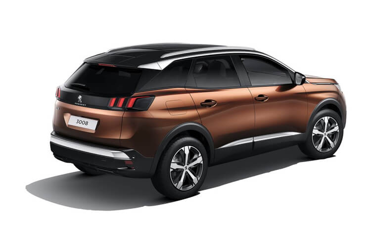 Peugeot 3008 SUV 1.2 PureTech 130PS Allure 5Dr Manual [Start Stop] back view