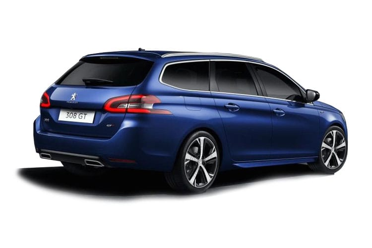Peugeot 308 SW 5Dr 1.2 PureTech 130PS Active 5Dr Manual [Start Stop] back view