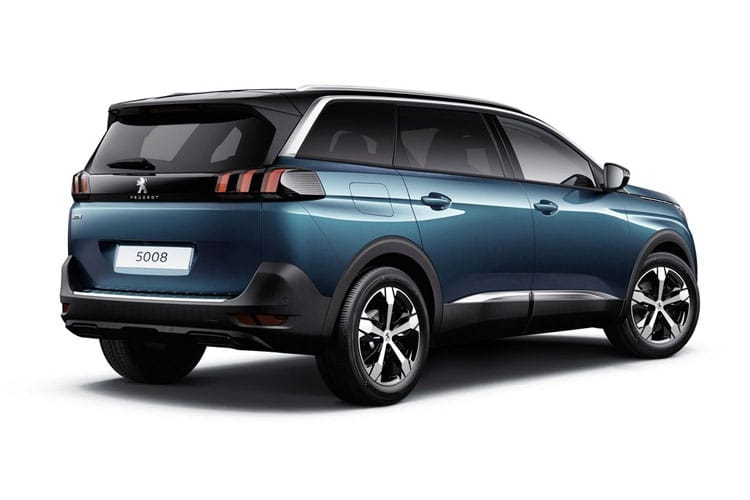 Peugeot 5008 SUV 2.0 BlueHDi 180PS GT 5Dr EAT8 [Start Stop] back view