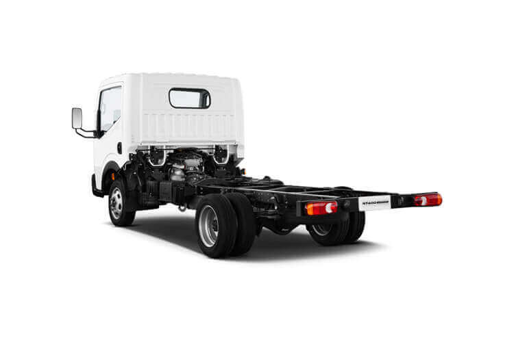 Nissan NT400 Cabstar 35.13 SWB 3.0 dCi DRW 130PS  Tipper Manual back view