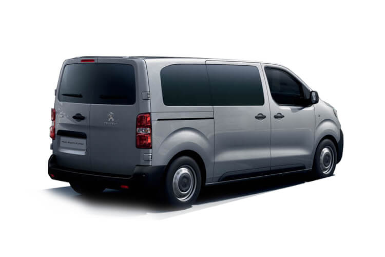 Peugeot Expert Combi Compact M1 1.5 BlueHDi FWD 120PS  Combi Manual [Start Stop] [8Seat] back view