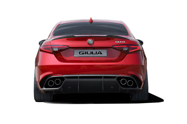 Alfa Romeo Giulia Saloon 2.0 T 280PS Veloce 4Dr Auto [Start Stop] back view