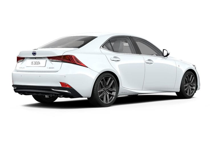 Lexus IS 300 Saloon 2.5 h 223PS IS 4Dr E-CVT [Start Stop] [Premium 17in] back view