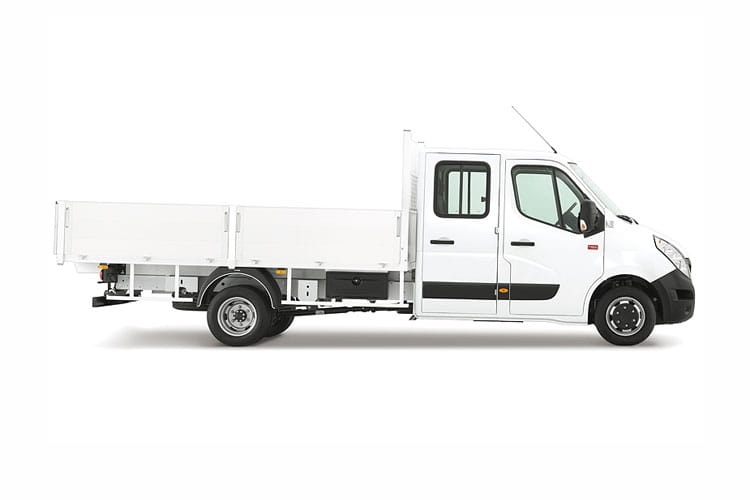Renault Master MWB 35 FWD 2.3 dCi FWD 135PS Business Tipper Manual [Aluminium] back view