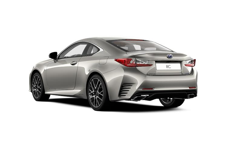 Lexus RC F Coupe 5.0 V8 463PS  2Dr Auto [SRoof Levinson] back view