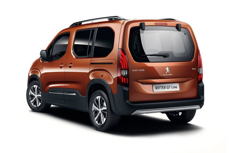 Peugeot Rifter Standard MPV 1.5 BlueHDi 100PS Allure Premium 5Dr Manual [Start Stop] back view