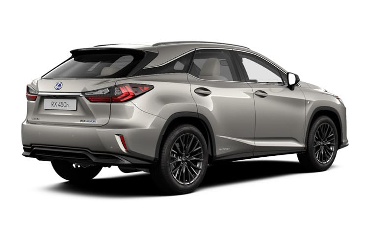Lexus RX 450h SUV 4wd 3.5 h V6 313PS F-Sport 5Dr E-CVT [Start Stop] [Tech Safety] back view
