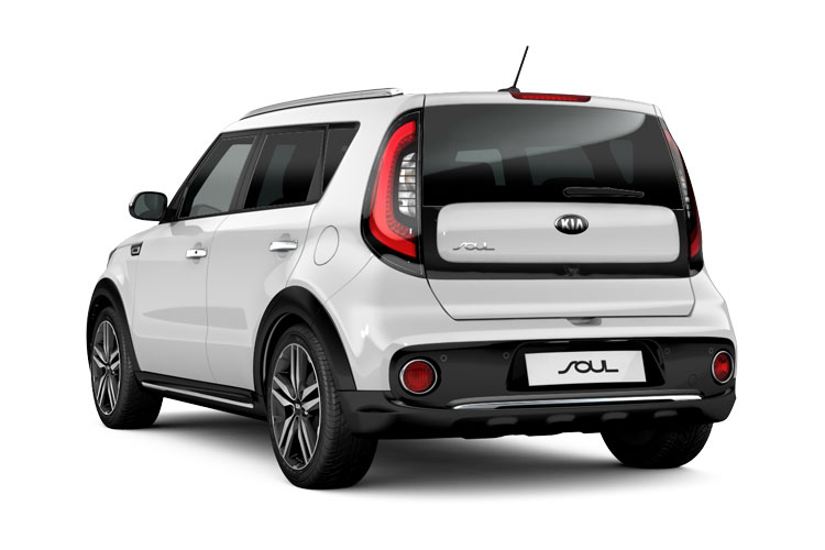 Kia Soul SUV Elec 64kWh 150KW 201PS First Edition 5Dr Auto back view
