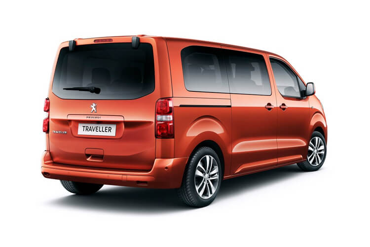 Peugeot Traveller Long 5Dr 2.0 BlueHDi FWD 180PS Business VIP MPV EAT [Start Stop] [6Seat] back view