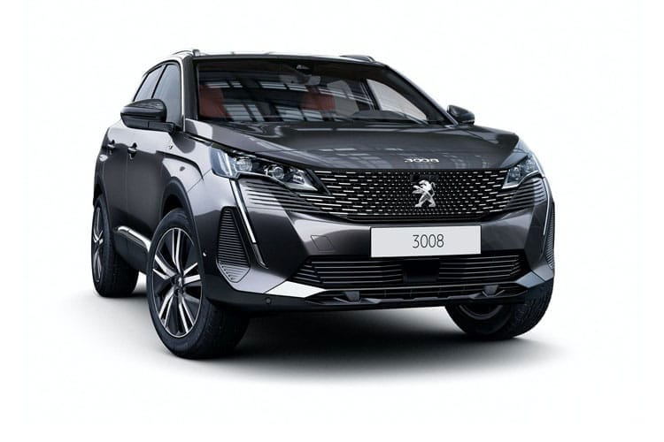 Peugeot 3008 SUV 1.2 PureTech 130PS GT 5Dr Manual [Start Stop] front view