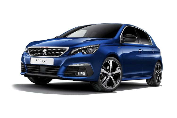 Peugeot 308 Hatch 5Dr 1.2 PureTech 130PS Allure 5Dr Manual [Start Stop] front view