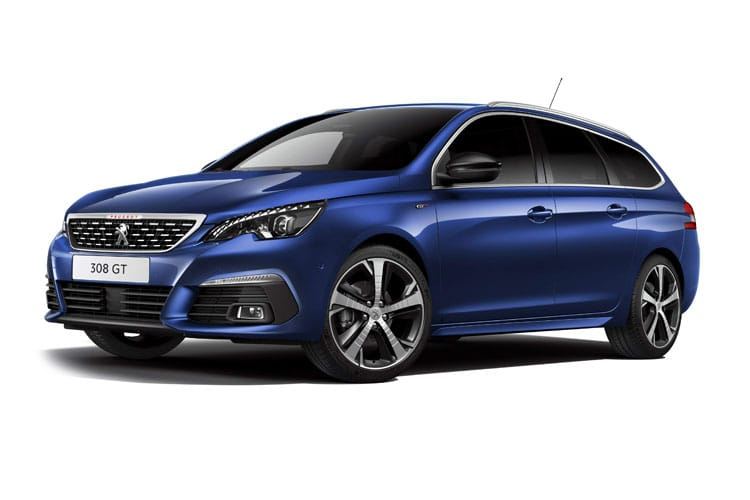 Peugeot 308 SW 5Dr 1.2 PureTech 130PS Active 5Dr Manual [Start Stop] front view