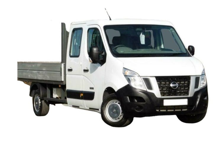 Nissan NV400 L3 35 FWD 2.3 dCi FWD 130PS SE Dropside Double Cab Manual front view