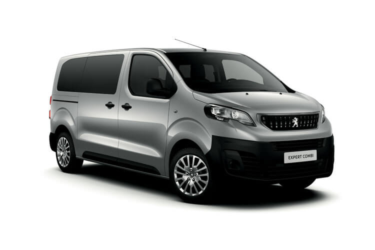 Peugeot Expert Combi Compact M1 1.5 BlueHDi FWD 120PS  Combi Manual [Start Stop] [8Seat] front view