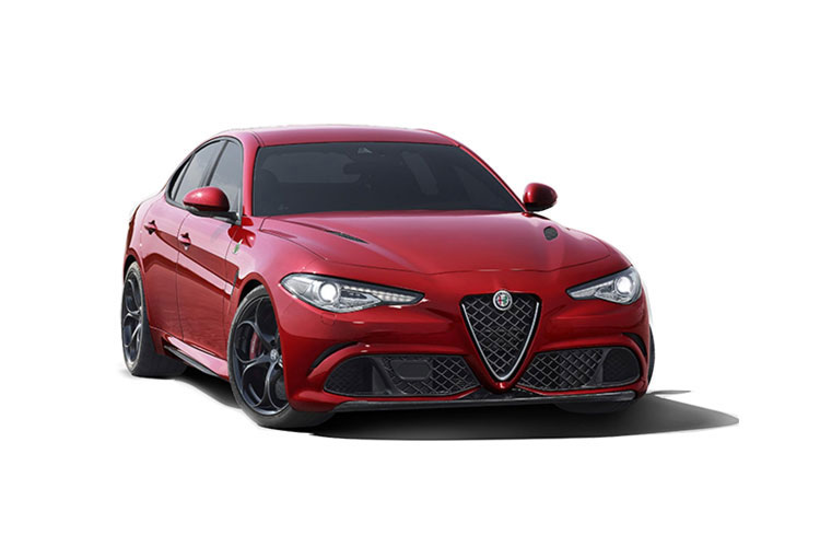 Alfa Romeo Giulia Saloon 2.2 TD 190PS Lusso Ti 4Dr Auto [Start Stop] [Driver Assistance Plus] front view