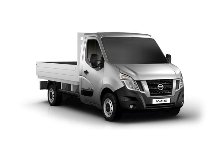 Nissan NV400 L2 35 FWD 2.3 dCi FWD 130PS SE Dropside Manual front view