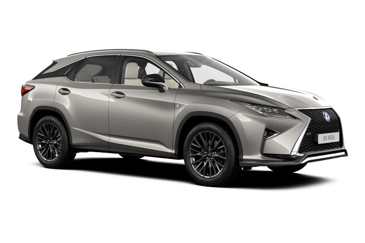 Lexus RX 450h SUV 4wd 3.5 h V6 313PS F-Sport 5Dr E-CVT [Start Stop] [Tech Safety] front view