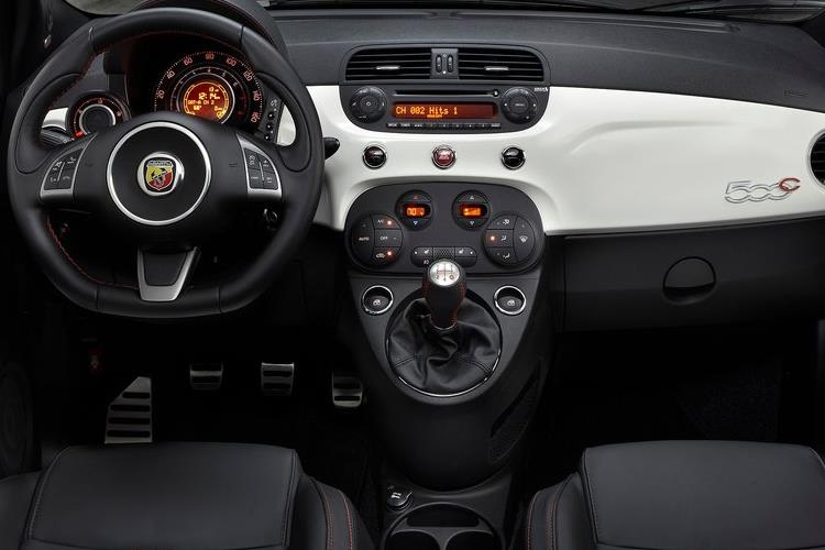 Abarth 595 C Cabrio 1.4 T-Jet 180PS EsseEsse 70th 2Dr Auto inside view
