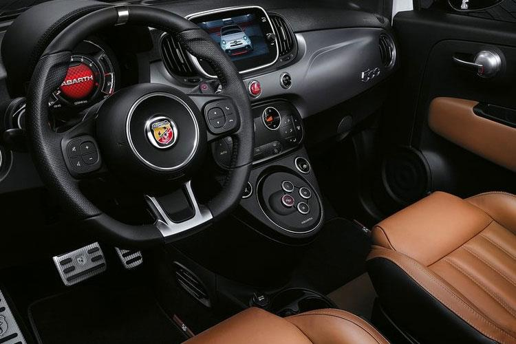 Abarth 595 Hatch 3Dr 1.4 T-Jet 165PS Turismo 70th 3Dr Auto inside view