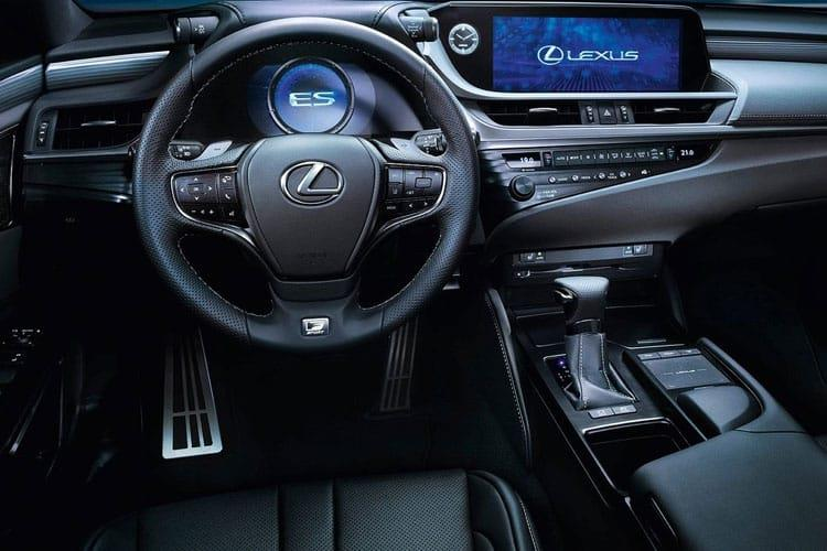Lexus ES 300h Saloon 2.5 h 218PS ES 4Dr E-CVT [Start Stop] inside view