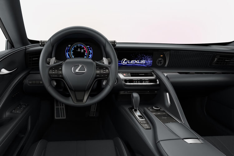 Lexus LC 500 Coupe 5.0 V8 464PS  2Dr Auto [HUD] inside view