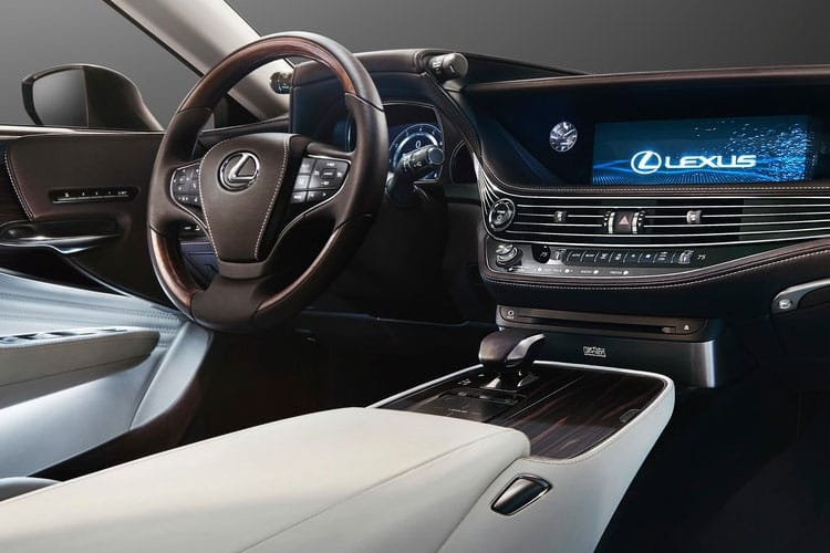 Lexus LS 500 Saloon 3.5 h V6 359PS LS 4Dr E-CVT [Start Stop] [Premium] inside view