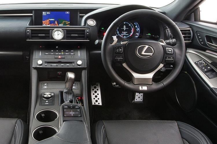 Lexus RC F Coupe 5.0 V8 463PS  2Dr Auto [SRoof Levinson] inside view