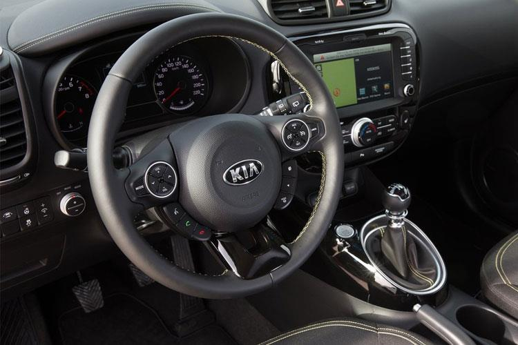 Kia Soul SUV Elec 64kWh 150KW 201PS First Edition 5Dr Auto inside view