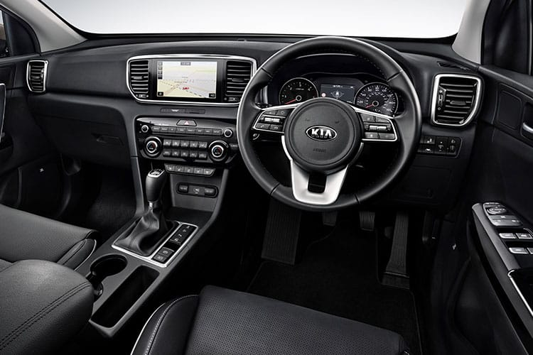 Kia Sportage SUV 2wd 1.6 GDI 130PS 2 5Dr Manual [Start Stop] inside view